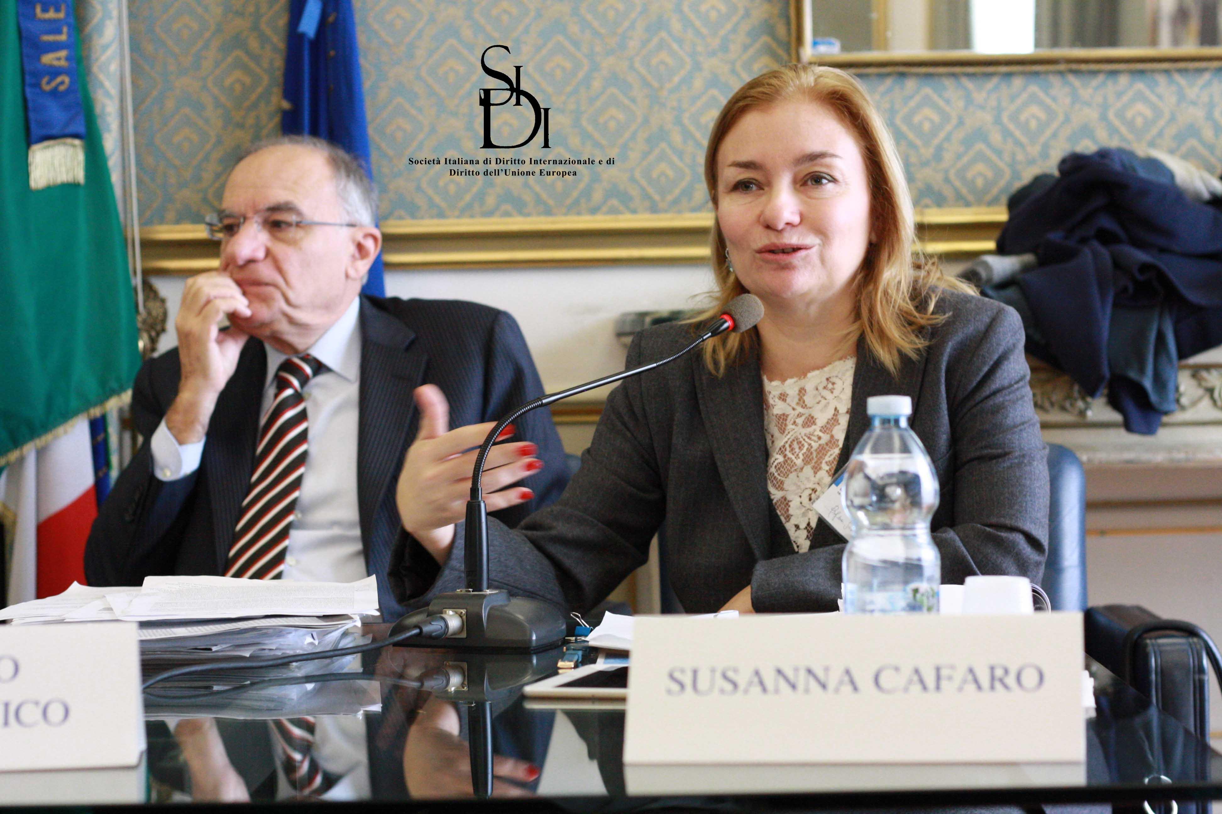 Prof. S. Cafaro - Cittadinanza e democraticità dell'Unione europea