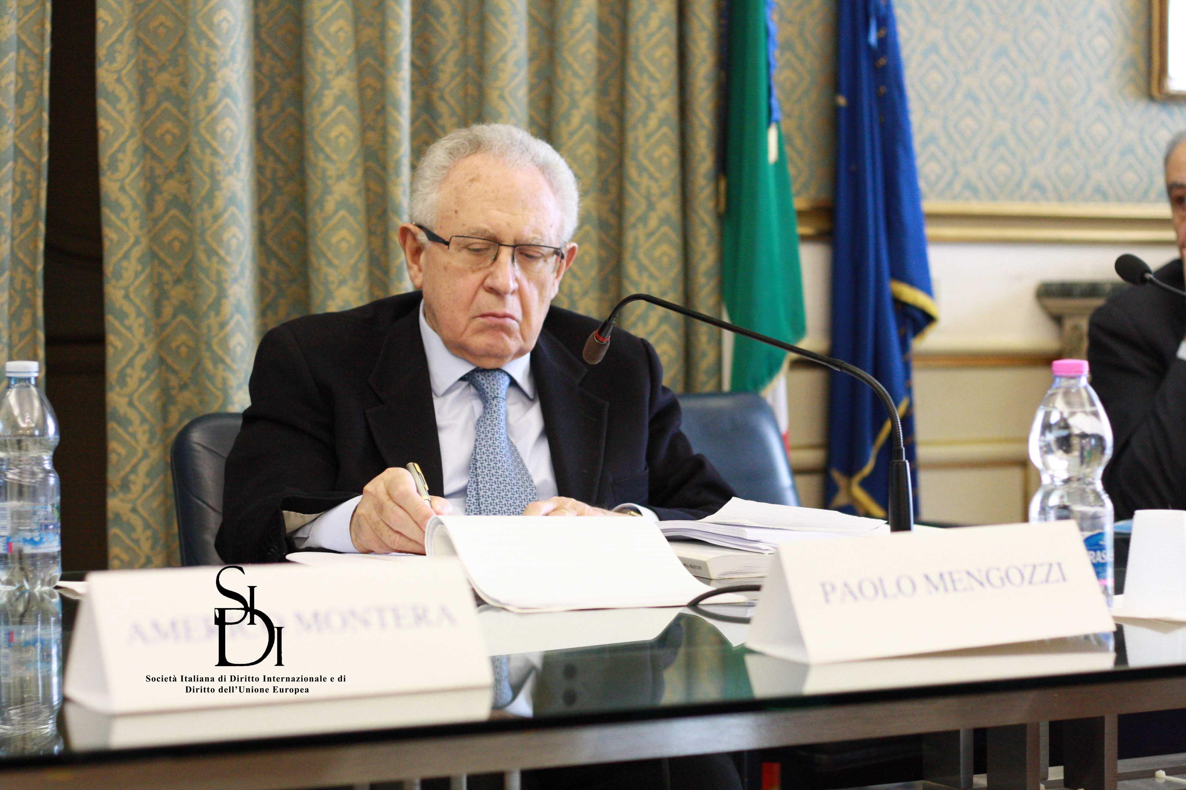 Prof. P. Mengozzi - Avvocato generale della Corte di giustizia  dell'Unione europea