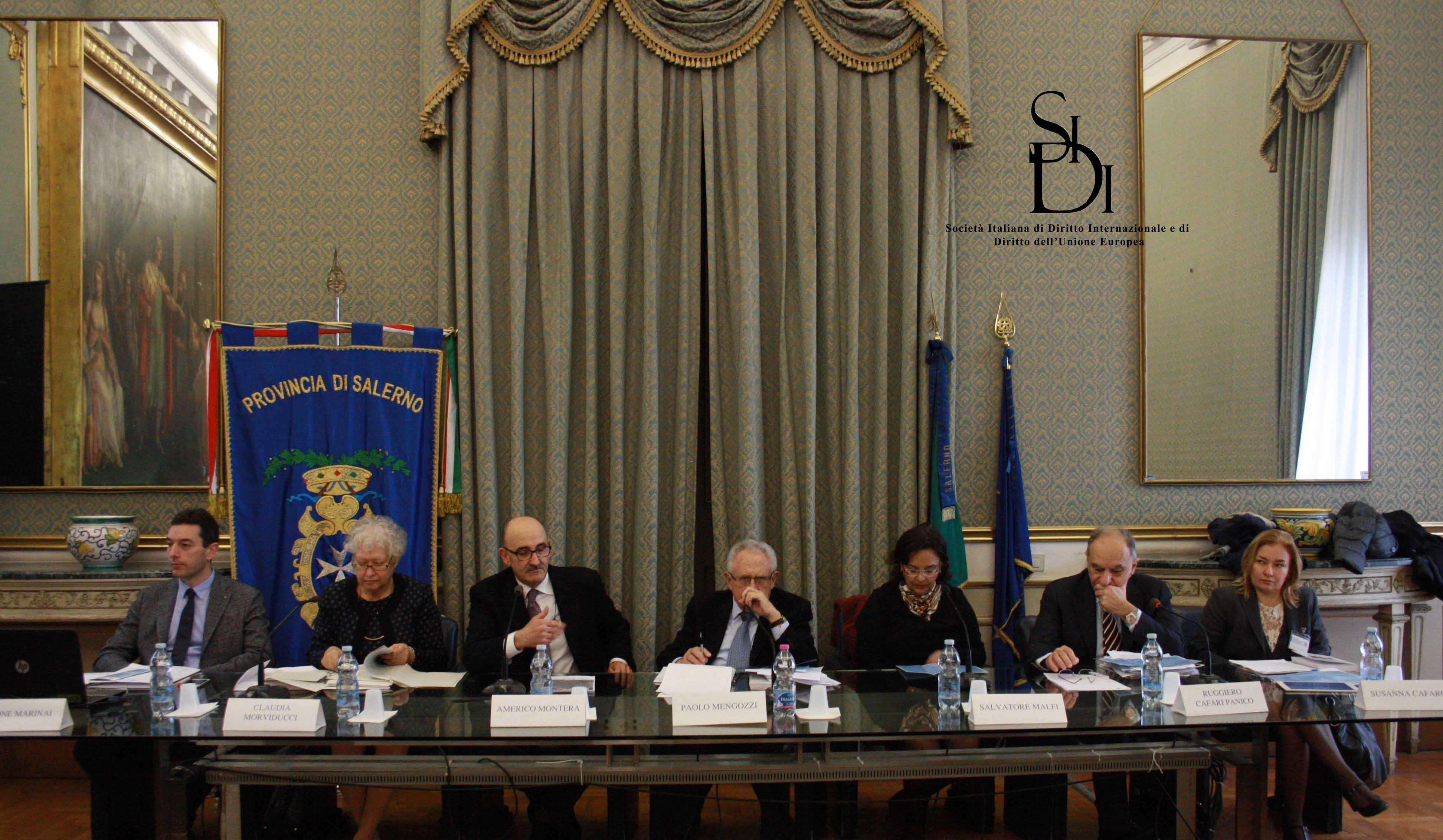A. Montera - Presidente dell'Ordine degli Avvocati di Salerno