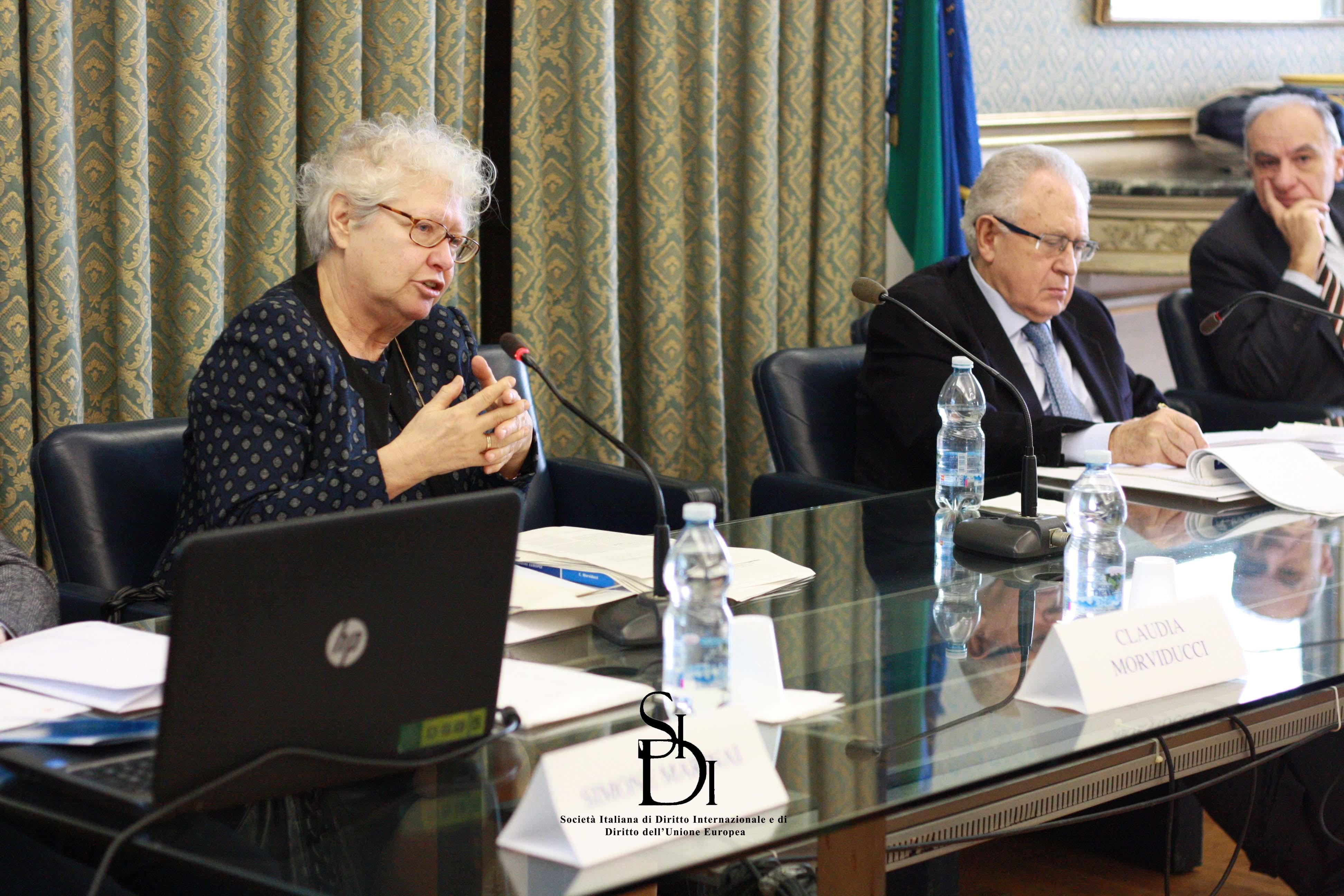 Prof. C. Morviducci - La distinzione tra cittadini stanziali e non nella giurisprudenza recente  della Corte di giustizia